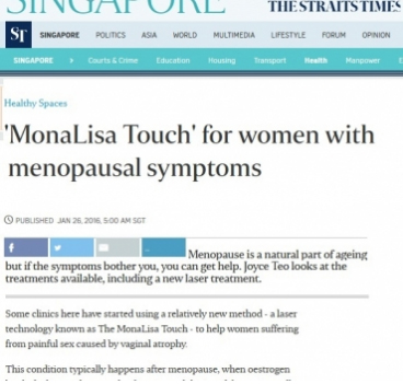 MonaLisa Touch for women with menopausal symptoms