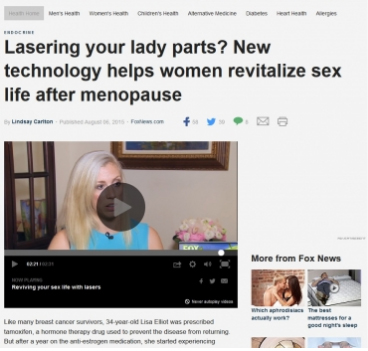 Lasering your lady parts?