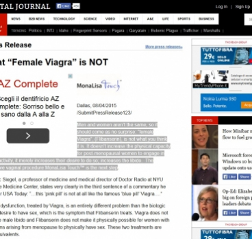 "What ""Female Viagra"" is NOT"